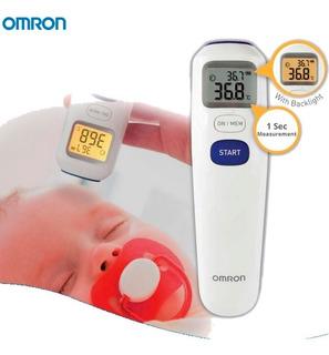 Omron - Termómetro Digital De Frente Mc-720-la