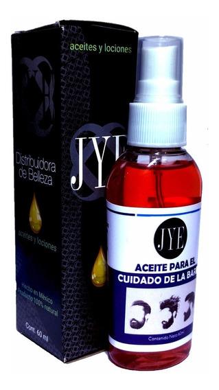 Aceite Jye Cuidado Acondiciona De La Barba Y Bigote