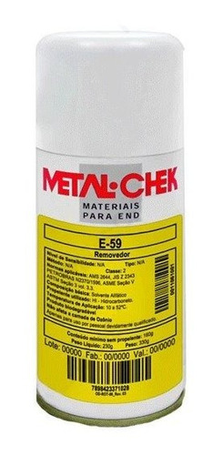 Removedor E59 - Metal Check