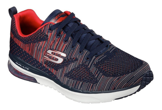 Skechers Zapatillas Hombre Rapid Fire Navy Red