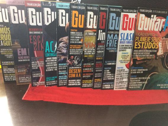 Coleção De Revistas Guitar Player 2014 Com 12 Unidades