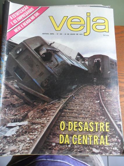 Veja - O Desastre Da Central Do Brasil (nº 359) Frete Grátis