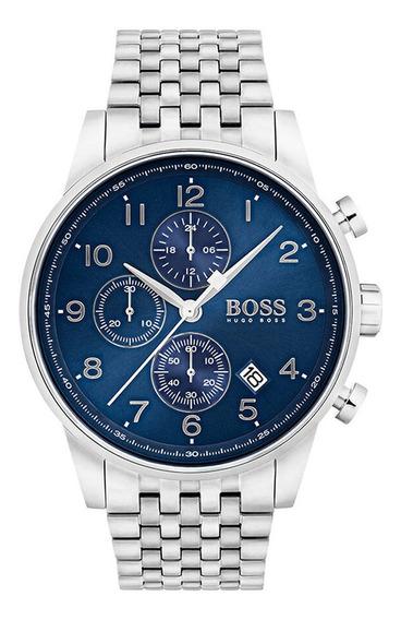 Relógio Masculino Hugo Boss Navigator 1513498 Completo