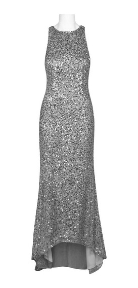 Vestido De Noche Adrianna Papell 100% Original Importado