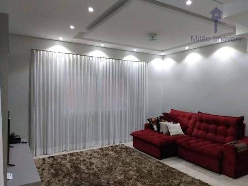 Casa/sobrado 4 Suíte À Venda, 297m², Residencial Villa Dos Inglezes Em Sorocaba/sp - So0455