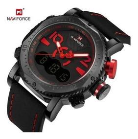 Relógio Naviforce Luxury Sport Dual Time Quartz Promoção