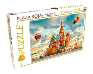 Puzzle 1000 Pzs Plaza Roja Moscu Implas Art 303 E.full