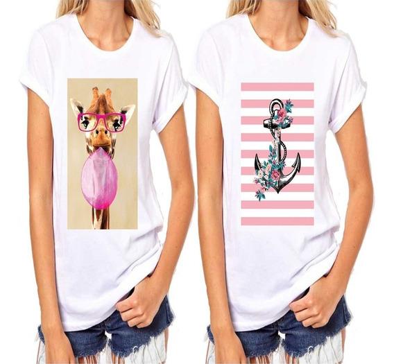 T Shirts Blusa Feminina Revenda Atacado Kit Com 10 Peças
