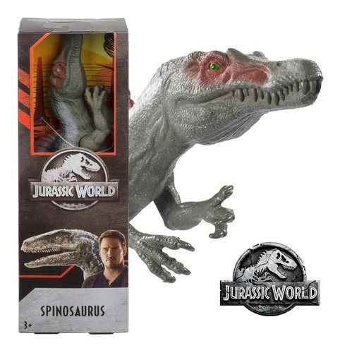 Imagem 1 de 4 de Dinossauro Spinosaurus - Jurassic World Dino Rivals - Mattel