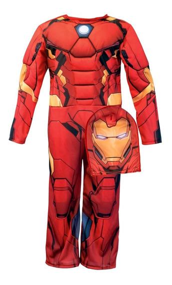 Disfraz Con Musculos Ironman Original Newtoys Mundo Manias