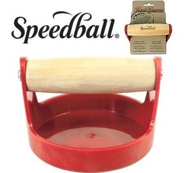 Baren Red Para Gravura E Xilogravura Speedball *frete+barato