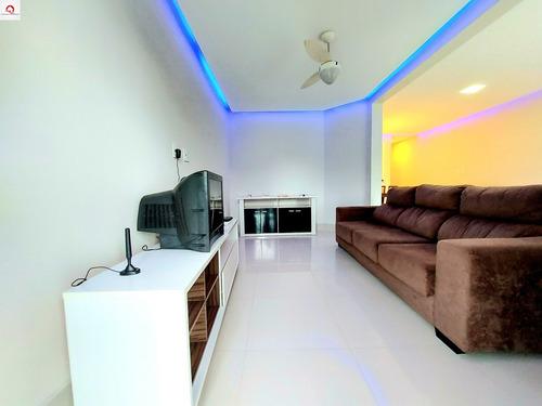 3 Dorimitórios Sendo 1 Suíte - Lazer - Ar-condicionado - Reformado - Praia Da Enseada - Apartamento À Venda - Ap05583 - 68992937