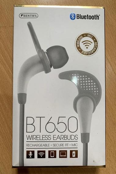 Fone De Ouvido Bluetooth Sentry Bt650-usa