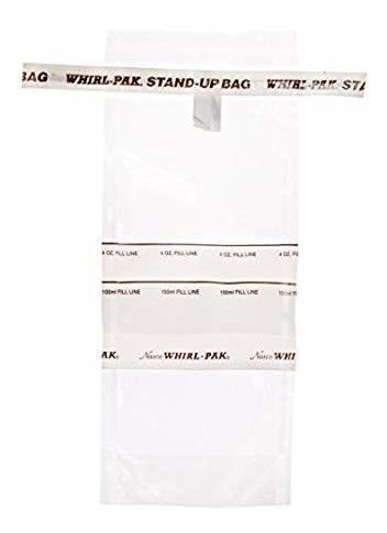 Nasco Whirl-pak B01364wa Stand-up Bag, 18.5cm L X 7.5cm W, C