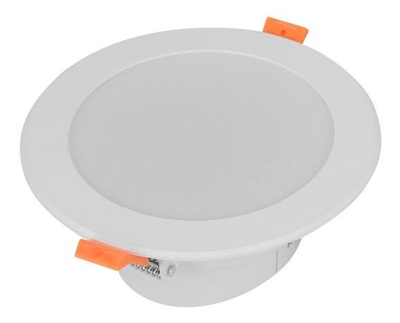Lampara Led 12w Luminario Para Bote Integral Redondo Blanco