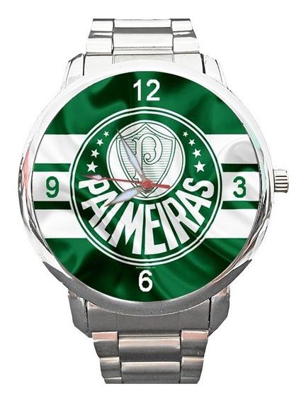 Relógio Palmeiras Verdão Porco Palestra Itália Mancha Top