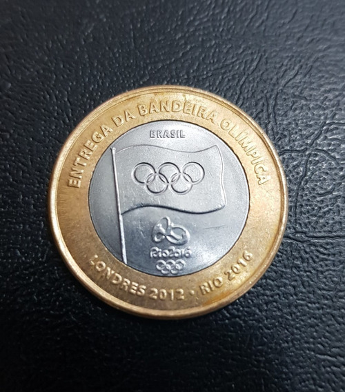 Moeda Da Bandeira 2012 Olimpíadas