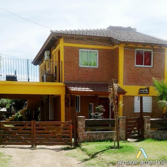 Alquilo Casa En Mina Clavero De 2 A 8 P.