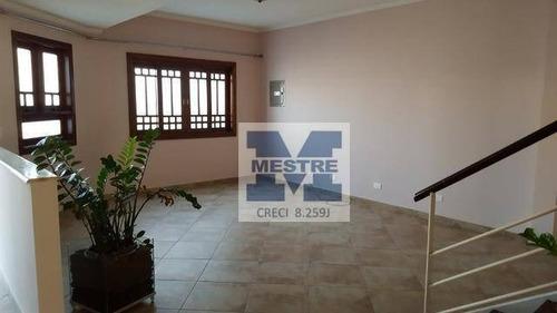 Sobrado Com 3 Dormitórios À Venda, 220 M² Por R$ 1.490.000,02 - Jardim Santa Clara - Guarulhos/sp - So0546