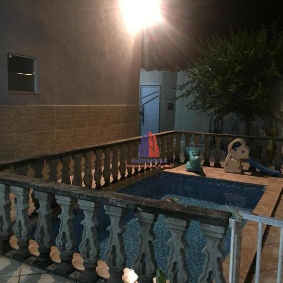 Casa Com 4 Dormitórios À Venda, 180 M² Por R$ 350.000 - Parque Residencial Triunfo - Nova Odessa/sp - Ca0934