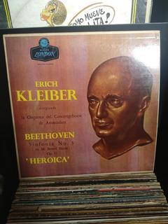Disco De Vinilo,erich Kleiber, Beethoven,sinfonía N 3