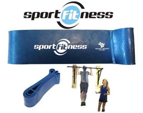 Banda De Poder Elástica Sportfitness Azul Tonificacion Gym