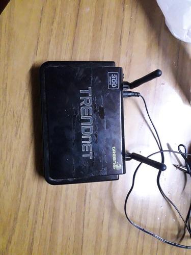 Router De Dos Antenas Trendnet
