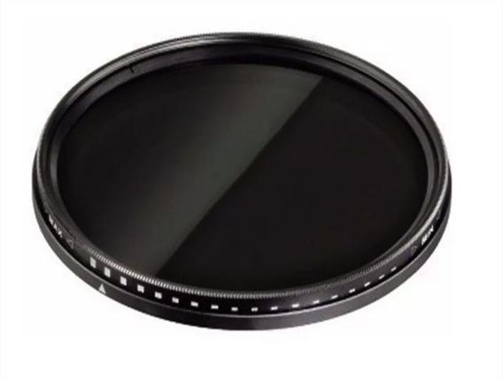 Filtro Densidade Neutra Variável (fader) 82mm Nd2 Até Nd400