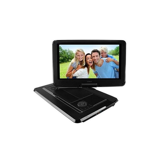 Synagy 14 Portable Dvd Player Cd Player With Swivel Screen