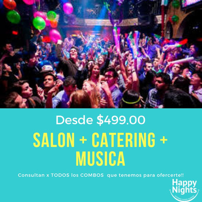 Salon De Fiestas* Eventos Belgrano Nuñez Saavedra Alquiler