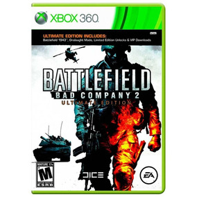 Battlefield Bad Company 2 Xbox 360 Original Seminovo