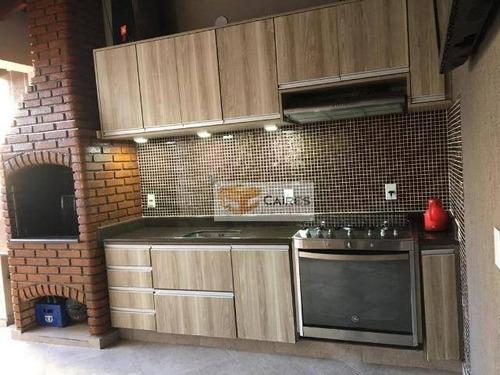 Casa Com 4 Dormitórios À Venda, 250 M² Por R$ 690.000,00 - Jardim Eulina - Campinas/sp - Ca3215