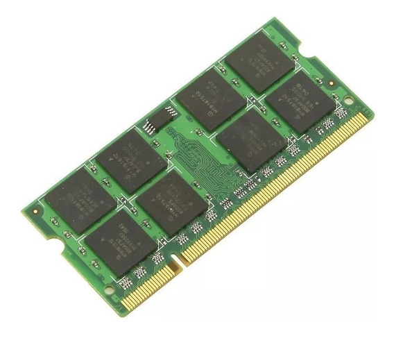Memória Ddr2 2gb 667mhz Pc2-5300 Chip Para Notebook