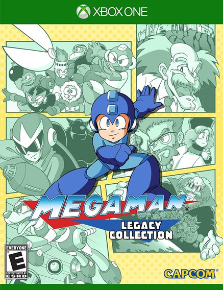 Mega Man Legacy Collection Xbox One Mídia Física Lacrado