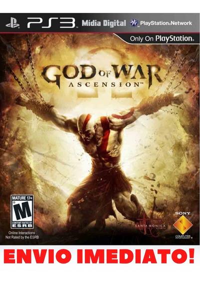 God Of War Iv Ascension Ps3 Midia Digital Envio Já!!!