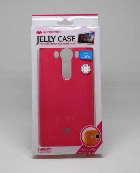 Funda LG V10 Mercury Goospery Pearl Jelly Case Fiusha