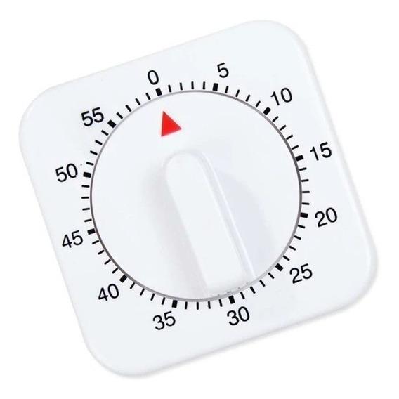 Timer Reloj Mecanico Cocina Silcook Alarma Reposteria 4151