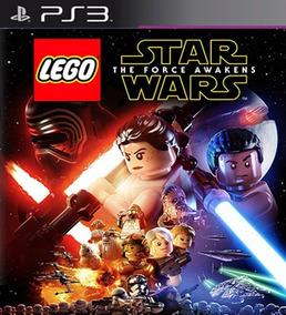 Lego Star Wars The Force Awakens Ps3 Mídia Digital