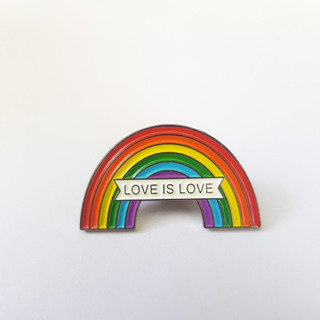 Broche Orgullo Gay Love Is Love