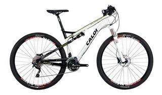 .mountain Bike Caloi Aro 29 Full Suspension Elite Fs