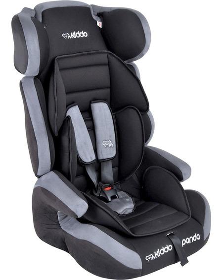 Cadeira Para Auto Kiddo Panda - Preto/cinza - Grupos 1, 2 E