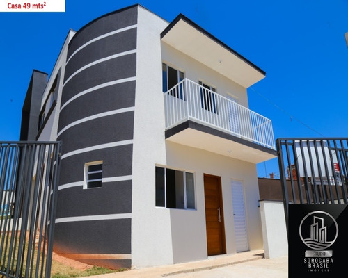 Sobrado Com 1 Dormitório À Venda, 49 M² Por R$ 145.000 - Jardim Santa Esmeralda - Sorocaba/sp - Ca00073 - 67692348