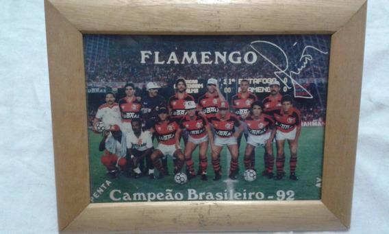 Quadro Antigo Flamengo Campeão Brasileiro De 1992