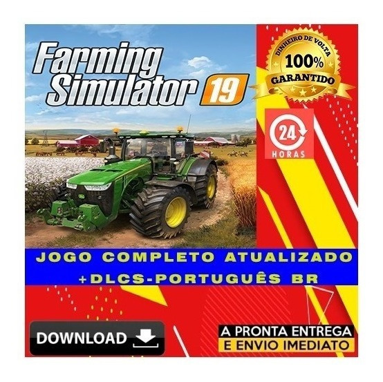Farming Simulator 19 Pc Completo - Digital - Pt Br + Brinde