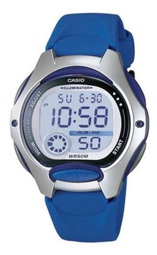Reloj Mujer Casio Lw-200-2a Azul Digital / Lhua Store