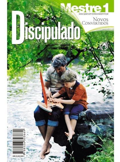 Revista Discipulado / Novos Convertidos Vol. 1 - Mestre