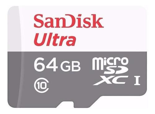 Cartão de memória SanDisk SDSQUNB-064G-GN3MN Ultra 64GB