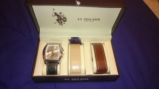 Reloj Us Polo Assn Con Correas Cambiables