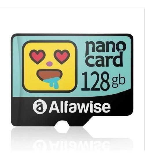 Cartão Memória Micro Sd Alfawise 128 Gb Classe 10 U3 Lacrado
