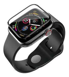 Vidrio Templado Curvo 3d Apple Watch 38 40 42 44 Mm Todos